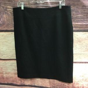 Banana Republic Women's Pencil Skirt Black Size 14